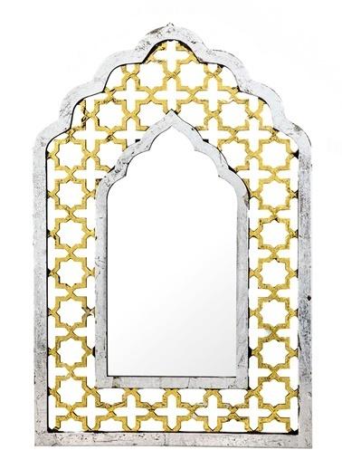 Vitale Vitale Varna Ahşap Duvar Aynası Renkli